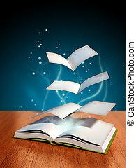 libro, mágico