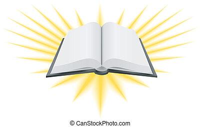 libro santo, ilustración