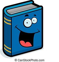 Libro sonriendo