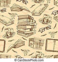 Libros antiguos sin marcas