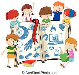 Libros de ciencia y niños