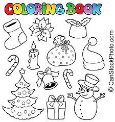 Libros de color imágenes de Navidad 1