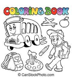 Libros de colores caricaturas 2