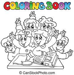 Libros de colores caricaturas 3