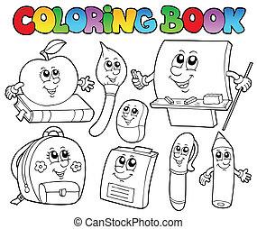 Libros de colores caricaturas 5