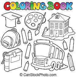 Libros de colores caricaturas 9