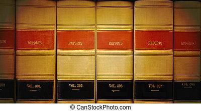 Libros de derecho de biblioteca