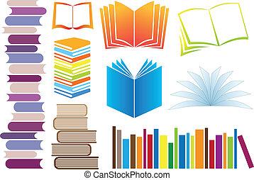 Libros de vectores