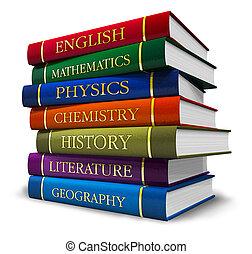 librosde texto, pila