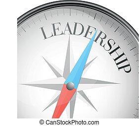 liderazgo, compás