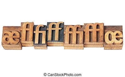 Ligaduras de madera