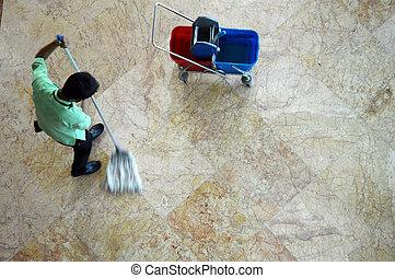 Limpia suelos