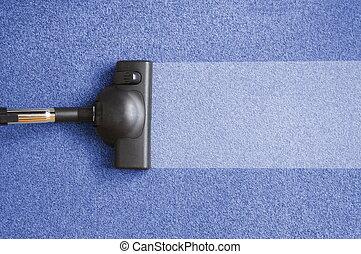 Limpiador de aspiradoras para los deberes