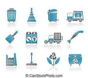 limpieza, industria, ambiente