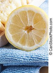Limpieza natural con limón