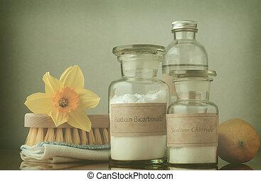 Limpieza natural de primavera, procesado
