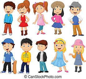 Linda colección de dibujos infantiles