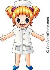 Linda enfermera