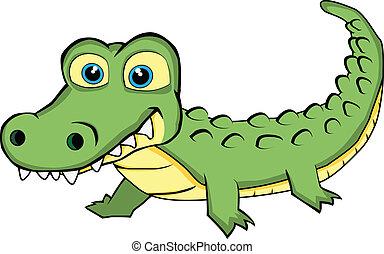 Lindo cocodrilo