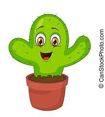 Lindo dibujo de cactus