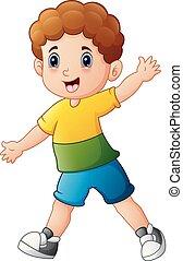 Lindo dibujo de niño
