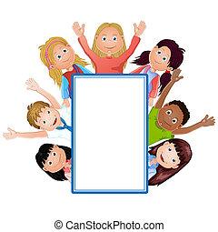 Lindo dibujo de niños