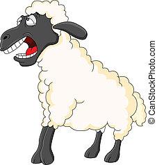 Lindo dibujo de oveja
