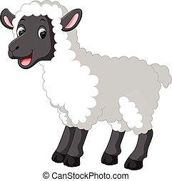 Lindo dibujo de ovejas