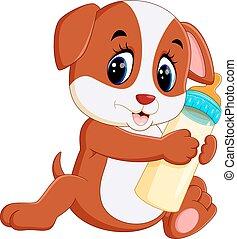 Lindo dibujo de perro