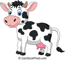 Lindo dibujo de vaca