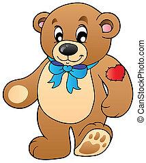 Lindo oso de peluche