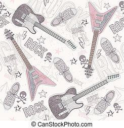 Lindo patrón abstracto grunge.