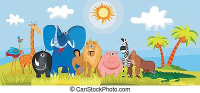 Lindos animales africanos