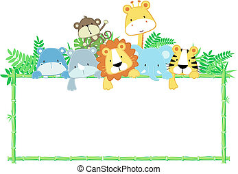 Lindos animales de la jungla