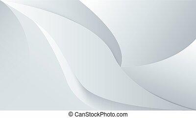lines., vector, blanco, ilustración, resumen, plano de fondo, liso, 3d