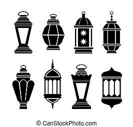 Linternas árabes Ramadan