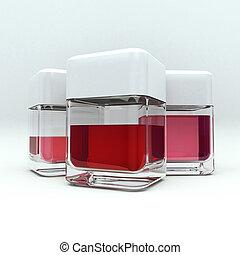 Liquido rojo