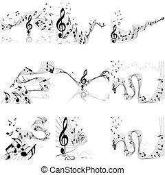 Lista de notas musicales