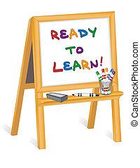 Listos para aprender, niños fáciles