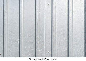 lit, plano de fondo, hecho, garaje, metal, sun., verdadero, hoja