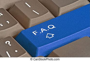 Llave caliente para FAQ