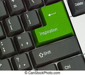 Llave caliente para la inspiración