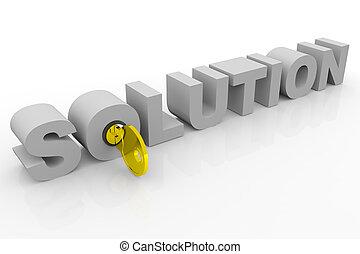 Llave de la solución