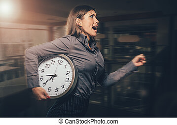 ¡Llego tarde!
