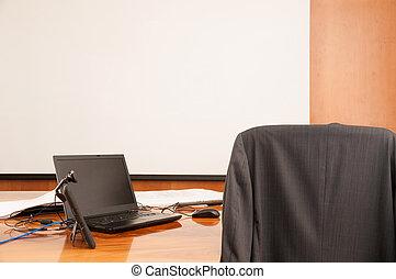 lnterior de la sala de conferencias