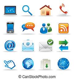 lnternet y los iconos de Internet