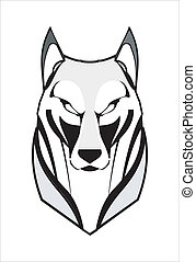 Lobo, coyote, husky, zorro