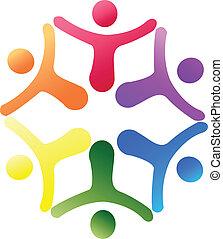 Logo de apoyo del equipo