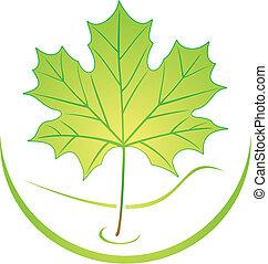 Logo de hojas