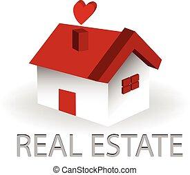 Logo de la casa de bienes raíces